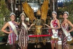 Gathering Miss Global 2019 Royal Court