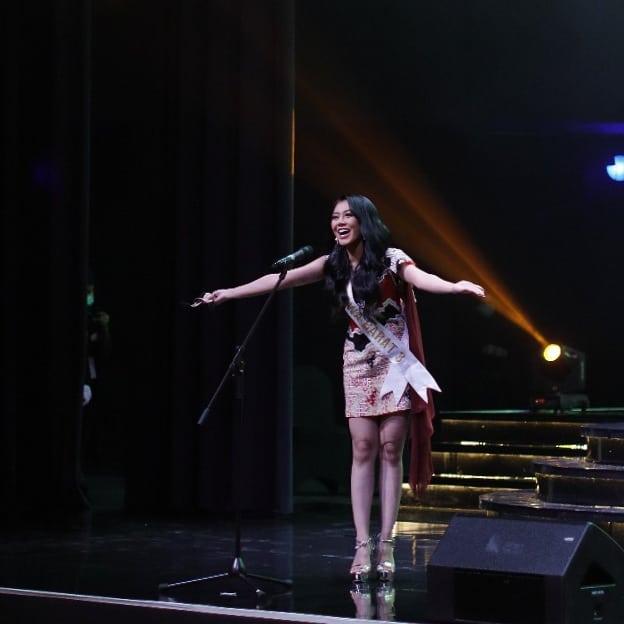 Miss Global Indonesia 2020_Coreta Louise-Batik dress-10