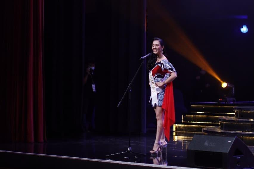 Miss Global Indonesia 2020_Coreta Louise-Batik dress-7