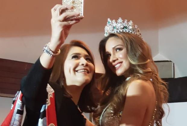 Coreta Louise at Press Conference & Gathering Miss Global 2019 Royal Court-3_620x420px