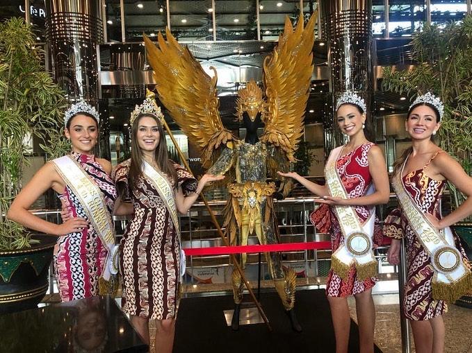 Miss Global 2019-Batik Coreta Louise-Visit Indonesian Ministry of Tourism-1