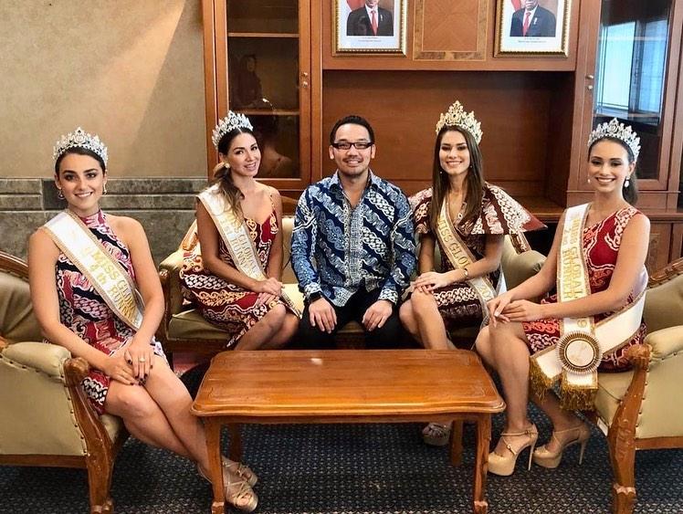 Miss Global 2019-Batik Coreta Louise-Visit Indonesian Ministry of Tourism-5
